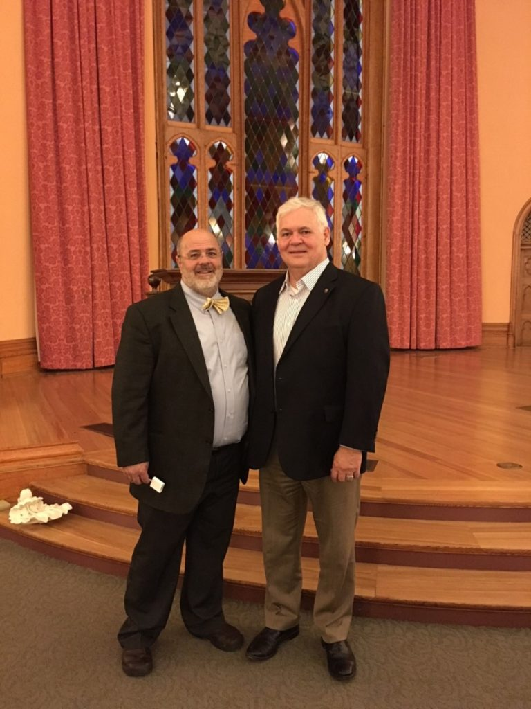 Robert Baird and Kevin Harris